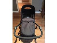 BabyStart Pram and Pushchair Combi with Fisher Price Car Seat