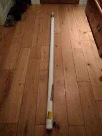 John Lewis White Textured Roller Blind 183cm