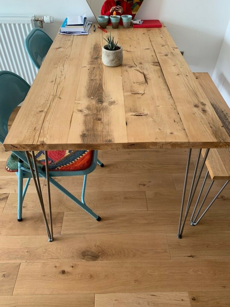 Reclaimed Wood Dining Table London