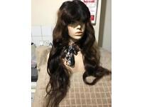 """26"""" Brazilian Silk Top Full Lace Wig, 180% heavy Density"""