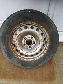 Vivaro traffic primestar wheel 5x118
