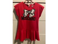 Gorgeous red Moschino dress