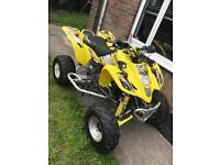 Road legal ltz 400 quad bike very clean for swaps for a nice car