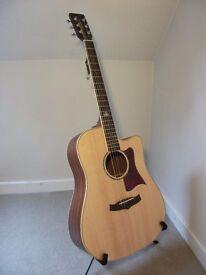 Tanglewood TW115 SS CE Premier Range Electro Acoustic Guitar.