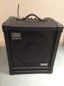 Roland bass cube 100 amplifier