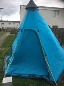 Tent teepee style