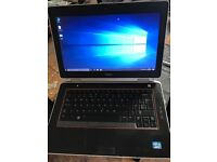 Dell E6420 quad core i7 laptop