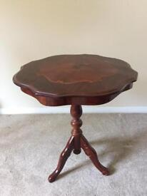 Small Decorative Wooden Table
