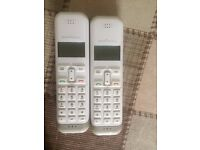 Nearly New House Phones COMPLETE STILL IN BOX