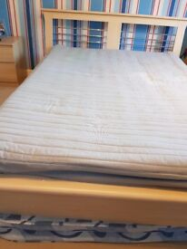 Double bed frame & matress