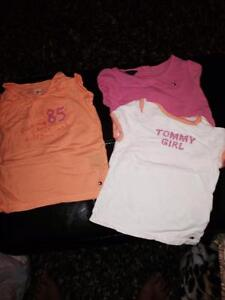 Tommy higher shirts for sale girls 3-6 12 months