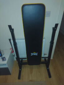 EVERLAST folding bench with 50kg weights!!