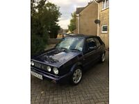 MK1 VW Golf GTI RIVAGE Cabriolet 1992