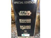 Star War VHS Tapes