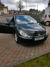 Peugeot 307cc absolute bargain, 2 owners from new