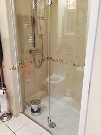 Glass Shower door. Perfect condition