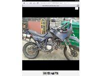 Honda transalp 600cc black
