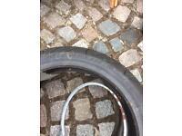Michelin Pilot Semi slick bike tyres