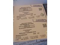 2 x tickets Carnival of Light May 4th 2018 Bournemouth o2 Academy