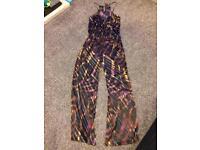 Karen Millen purple jumpsuit 10