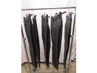 Age 10-11. Boys grey school trousers, with adjustable waists from M&S. 5 trousers available. P&SF