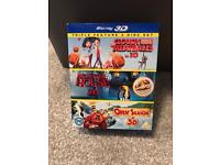 Cloudy With a Chance of Meatballs, Monster House & Open Season Triple Pack [Blu-ray 3D]