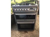 Hotpoint Silver Electric 60cm Cooker