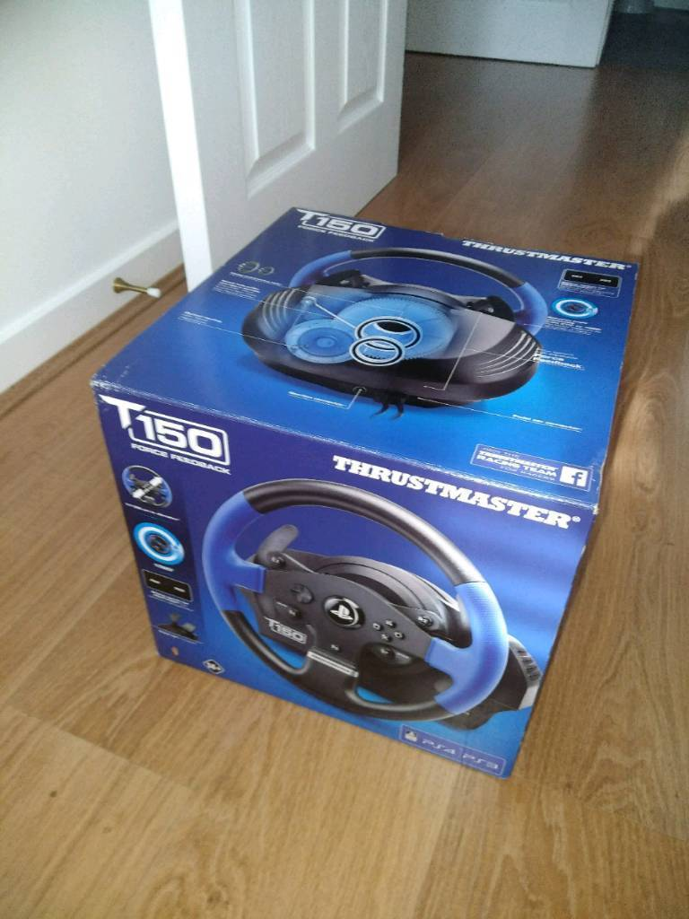 Thrustmaster t150 pc/ps4 wheel and pedals not logitech | in Didcot,  Oxfordshire | Gumtree