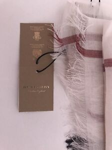 Burberry wool and silk scarf - Brand New with Tags