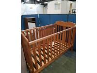 Pine children's cot