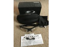Oakley Radar Path Polished Black Sunglasses polarized, with case and box