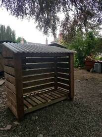 Heavy duty logshed 6ftx6ft