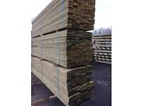 New timber decking 16 ft long