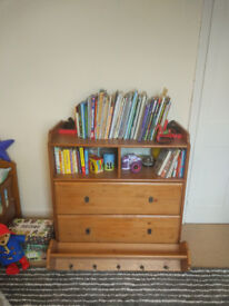 Ikea baby dresser with top shelf