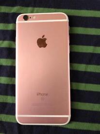 I phone 6s rose gold 64gb