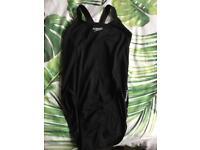 Black Speedo Swimsuit Size 16 UNUSED