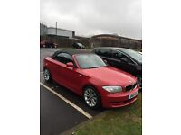 BMW 118d SPORT one series convertible low miles!!!