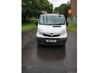 Vauxhall vivaro 2900 CDTi long wheel base panel van.