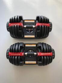 Bowflex SelectTech 552i 2-24kg Dumbbells