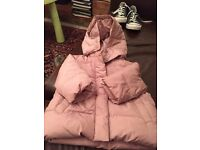 Gap Pink quilted jacket