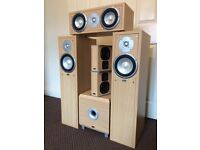 ELTAX LIBERTY 5 SPEAKERS & 1 SUBWOOFER, FULLY WORKING, CRYSTAL CLEAR SOUND, EXCELLENT CONDITION.