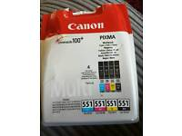 Canon Pixma Colour Ink pack of 4 New