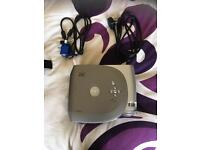 Dell projector with carry case