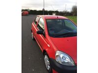 Toyota Yaris. 1 litre engine. Full service history. Excellent condition. 12 months mot