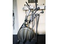 Folding Vision fitness X6100 elliptical trainer like new
