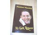 No Faith Required by Matthew Manning Near Fine copy - £2.55 incl p&p in UK