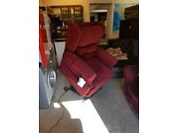 2 x Oak Tree Mobility Electric Riser Recliner Chair
