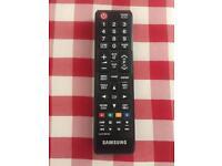 Samsung remote control tv