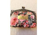 River island rose medium size purse