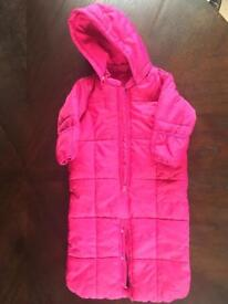 6-12 months baby GAP snowsuit
